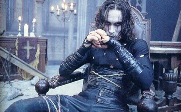 Brandon Lee as Eric Draven from 'The Crow' (1994)