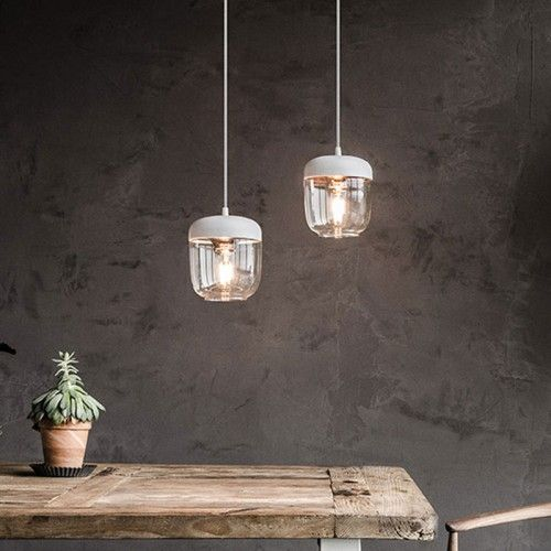 Fabulous Add a splash of colour to your interior with the Vita Copenhagen Copper Acorn Light