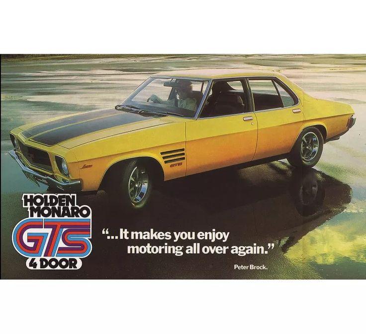 Holden HQ GTS Monaro 4 Door