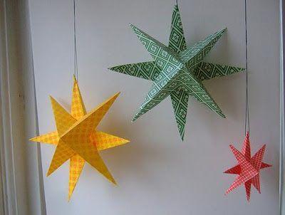 Los adornos en papel son elementos economicos para decoracion de cualquier espacio: habitaciones, salones de clases, salones de fiestas infantiles, etc. En esta entrada aprenderemos a realizar estrellas de papel.