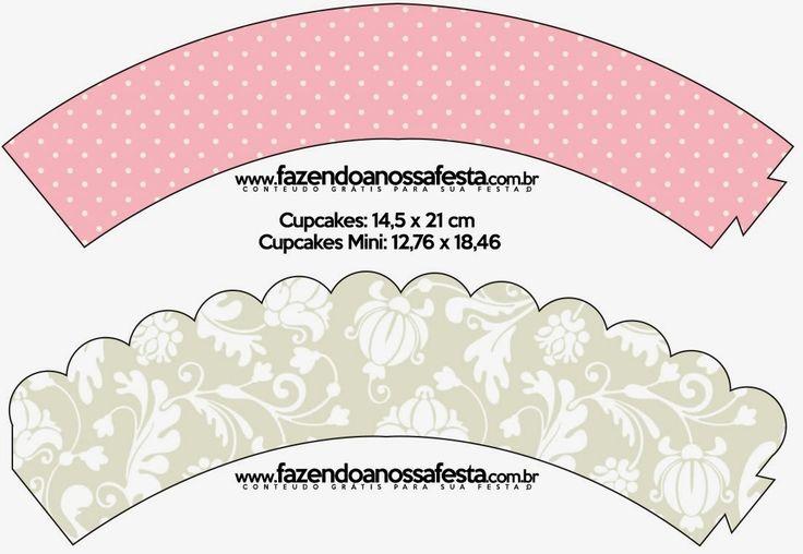 Provenzal en Rosa y Gris: Imprimibles Gratuitos. | Ideas y material gratis para fiestas y celebraciones Oh My Fiesta!