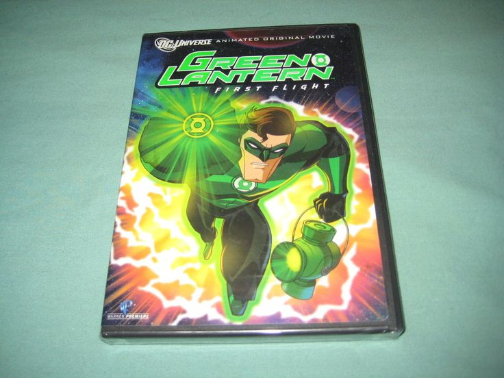 The Green Lantern First Flight Action DVD DC Comics 2009 (WS En) New & Sealed! | eBay