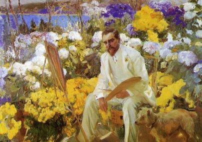 Joaquin Sorolla: Louis Comfort Tiffany, 1911.