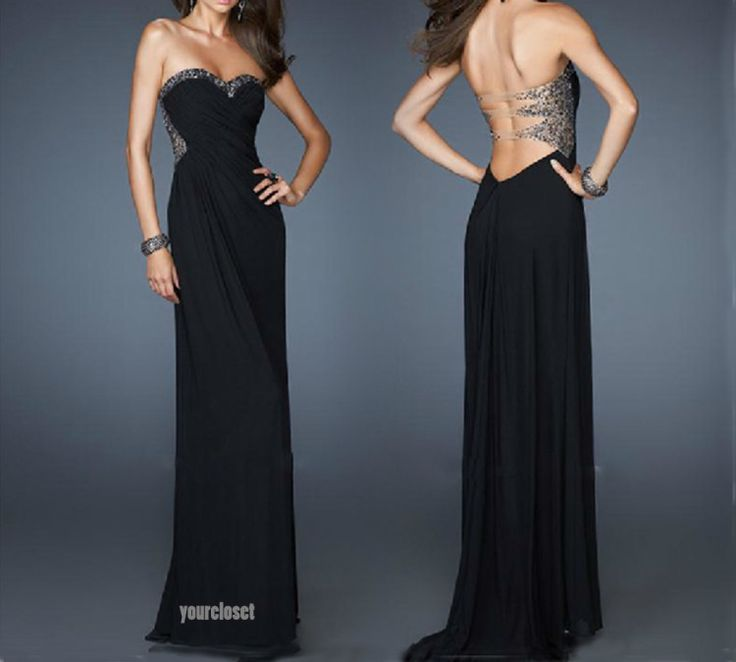 78 Best images about Elegant Black Dresses for Parties on ...