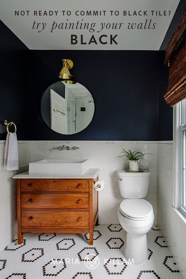 How To Decorate With Black Tile Colour In Tiles In 2020 Bathroom Trends Bathroom Makeover Amazing Bathrooms