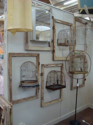 Birdhouses and frames