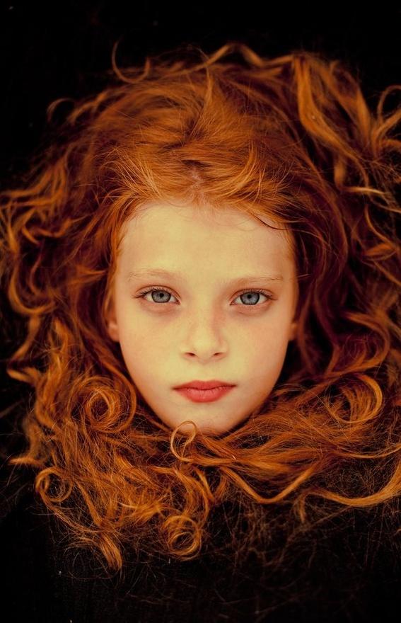ginger hair via softness, great inspiration for cgi medusa.
