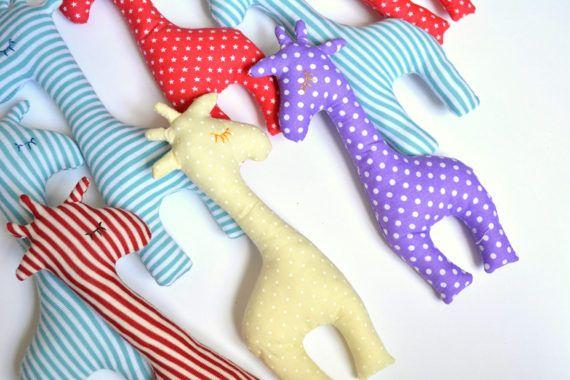 Mini Giraffe Favors Giraffe plush toy Party favors by penhands
