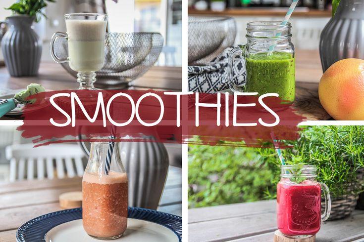 4 przepisy na zdrowe, proste i kolorowe smoothie! – wakacyjny szał dla każdego:)