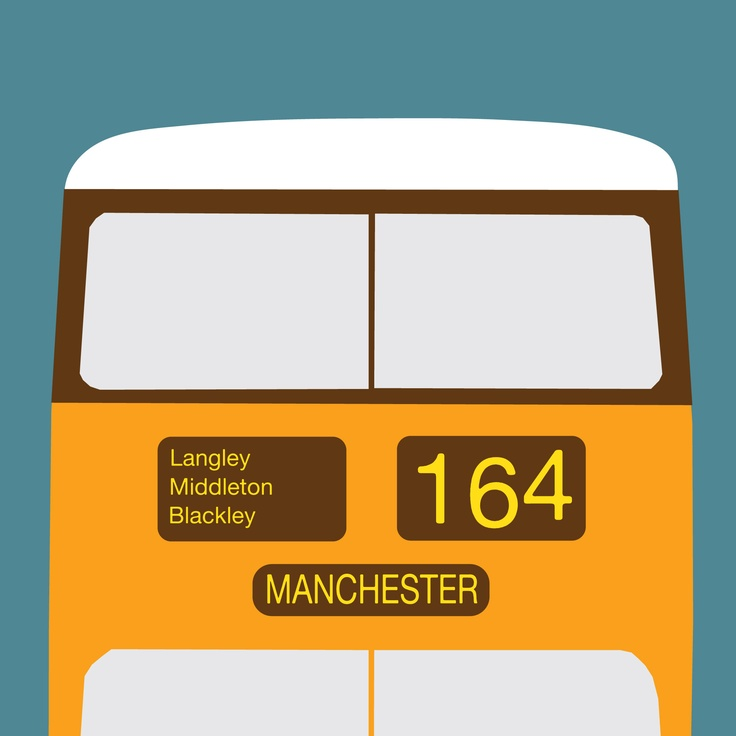 On any number of manchester buses