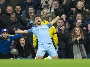 "Sergio Aguero ""very happy"" to become Manchester City's record goalscorer"