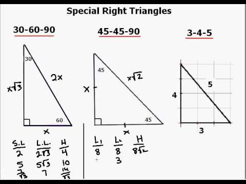 Best 25+ Special right triangle ideas on Pinterest