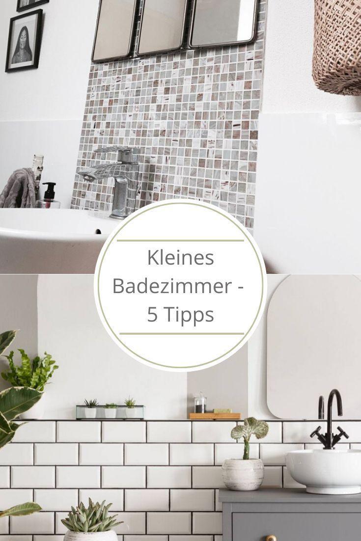 Kleines Badezimmer Mit Diesen 5 Tipps Wirkt Es Sofort Grosser Kleine Badezimmer Badezimmer Und Kleines Bad Gestalten