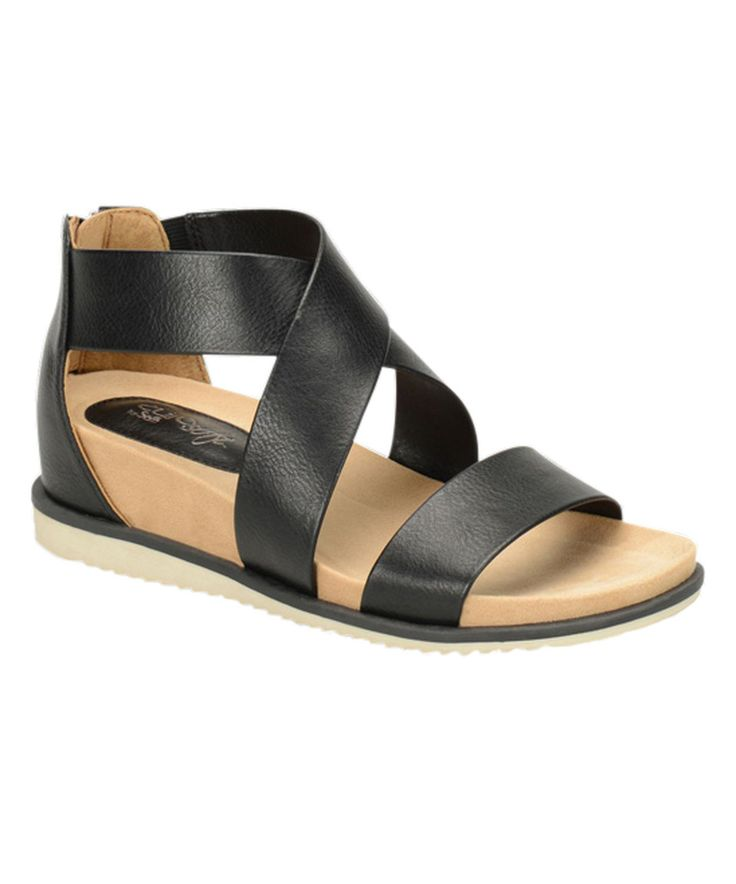 Take a look at this Eürosoft by Söfft Black Landry Sandal today!