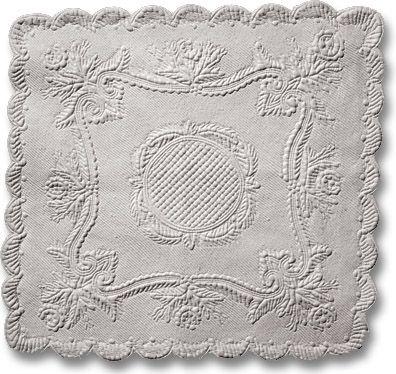"Petassoun (Infant lap quilt) Maker unknow Made in Mediterranean coast, France c. 1850-1890 19"" × 18"""