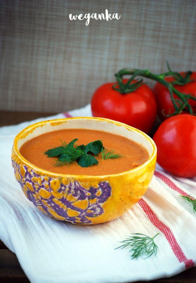 Kuchnia wegAnki: Krem z czerwonej soczewicy z kuminem