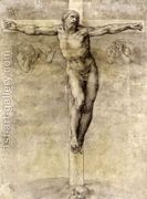 Christ On The Cross 1541  by Michelangelo Buonarroti