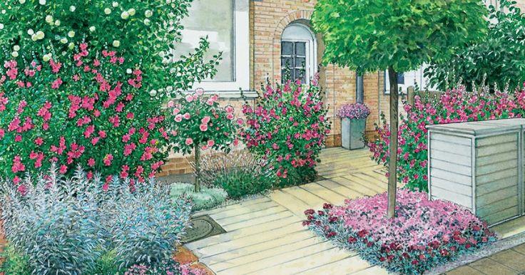 Häufig bereitet die Vorgartengestaltung Kopfzerbrechen – etwa, weil das Areal vor dem Haus nur wenige Quadratmeter groß ist. Wir zeigen Ihnen in unseren 40 Ideen zum Nachmachen, wie individuell sich Vorgärten gestalten lassen.