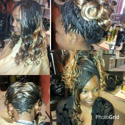 80 best images about micro braids on pinterest curled