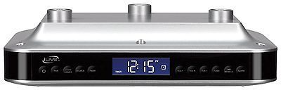 Radio Tuners: Ilive Ikb 333S Under Cabinet Bluetooth Speaker And Digital Music System Fm Radio -> BUY IT NOW ONLY: $92 on eBay!