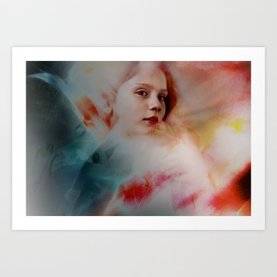 Amilia Dreaming Brighter Art Print by Oppen Photography - $18.00