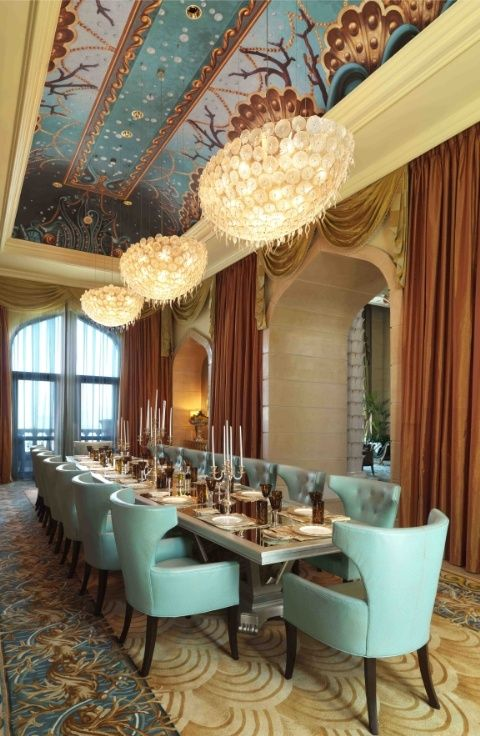 195 best dining rooms images on pinterest dining rooms for The most expensive hotel room in dubai