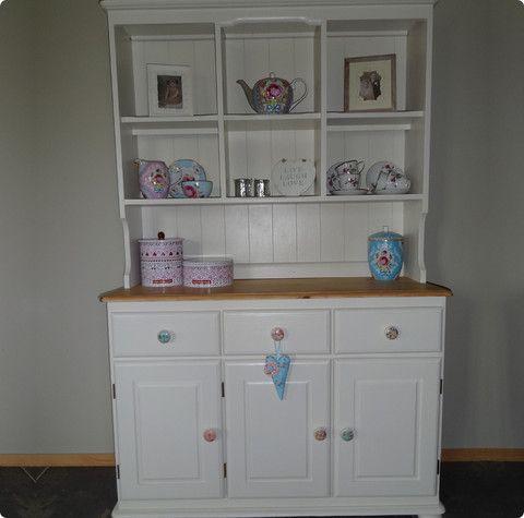 Beautiful Welsh Dresser painted in Farrow & Ball