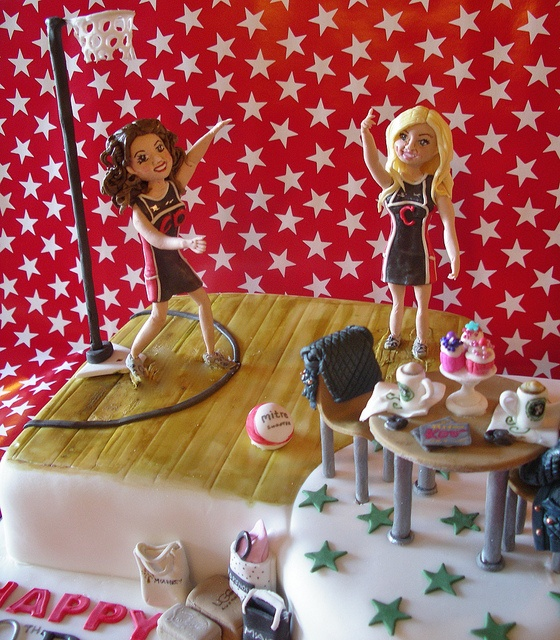 Netball stars by nice icing, via Flickr