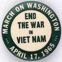 April 17, 1965: The largest anti-war rally held in the capital up to that time. The number of marchers was equal to the number of U.S. troops in Vietnam in 1965, approx. 25,000.