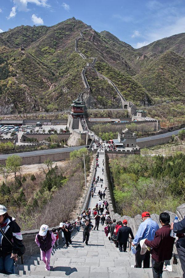 Juyongguan Pass of Great Wall of China, Changping, Beijing, China