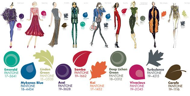 New color for autumn/winter 2013/14 by Pantone