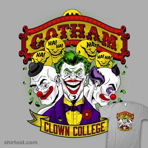 Clown College #TheJoker #Batman