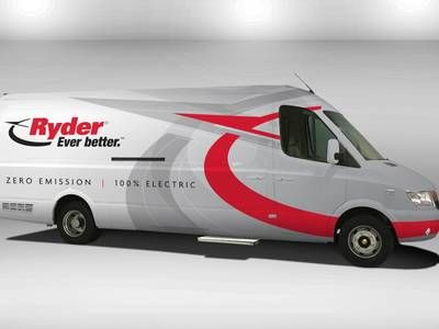 Ryder backs the Chanje to electric transport with addition of 125 medium-duty trucks