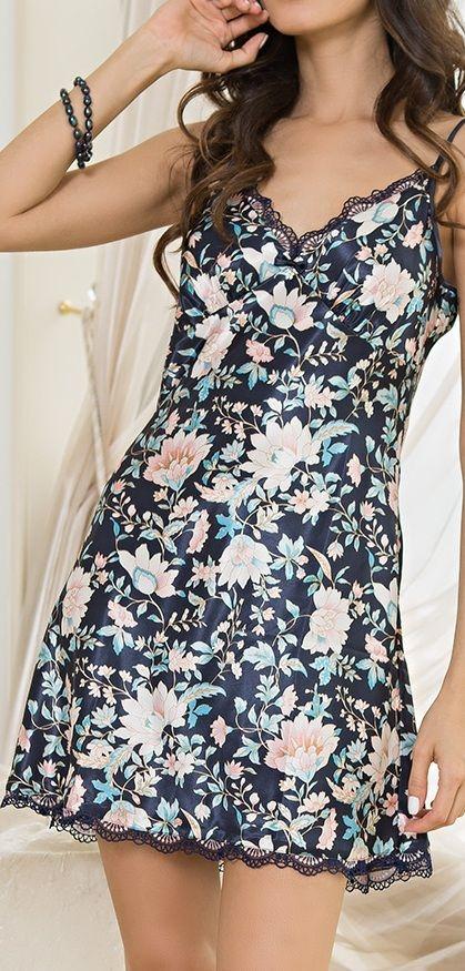 Атласная или шёлковая сорочка