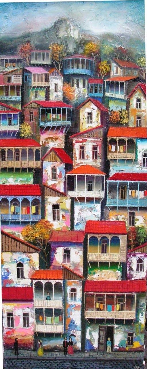 #peinture by David Martiashvili