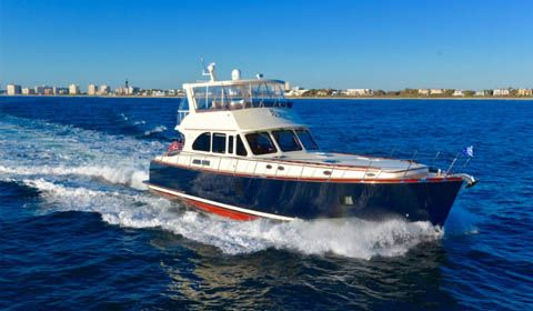 Vicem Yachts 65 Flybridge debuted at Palm Beach Boat Show 2016