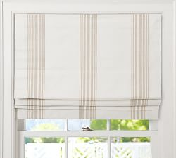 Fabric Roman Shades & Blackout Roman Shades | Pottery Barn