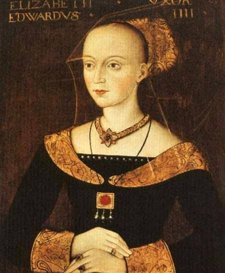 8th June 1492: On this day in history Elizabeth Woodville died at Bermondsey Abbey. Elizabeth was the wife of King Edward IV, mother of the Princes in the Tower and of Elizabeth of York, King Henry VII's wife.