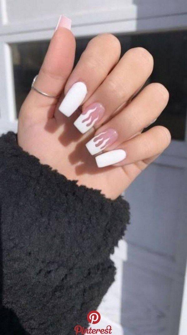 50 Acrylic Nails Design Ideas Naildesign Acrylicnail Naildesignideas Ekno Acrylic Acrylicnail Fire Nails Long Acrylic Nails Short Acrylic Nails