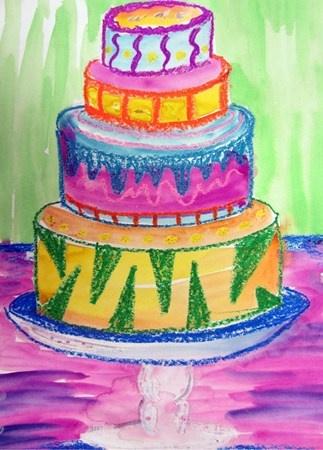 cake--Thiebaud