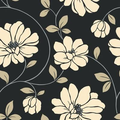 Wallpaper: Floral Wallpapers, Wallpapers Company, Floral Trail, Homedepot, Bathroom Ideas, Trail Wallpapers, Home Depot, Powder Rooms, Accent Wall