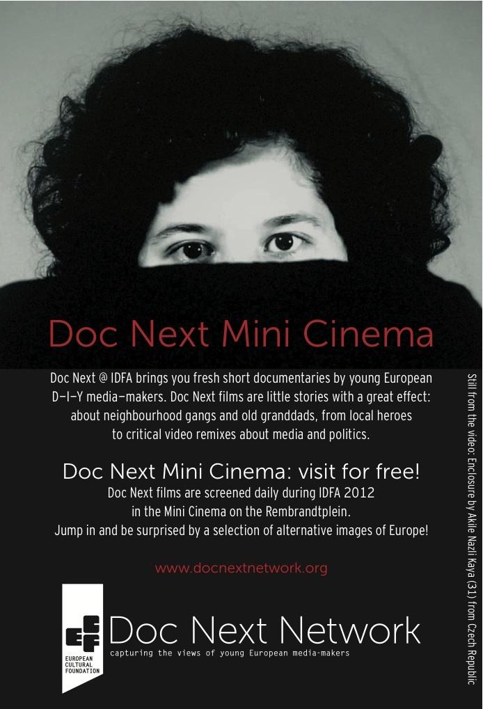 Doc Next Network presents Doc Next Mini Cinema at IDFA 2012