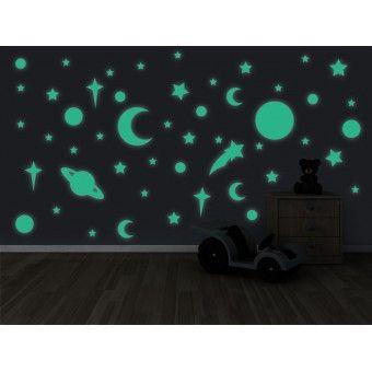 Sticker Fosforescent - Univers : Fosforescente - ★ Stickere Decorative ★ Stickere.Net ✫ Autocolante decorative de perete ®