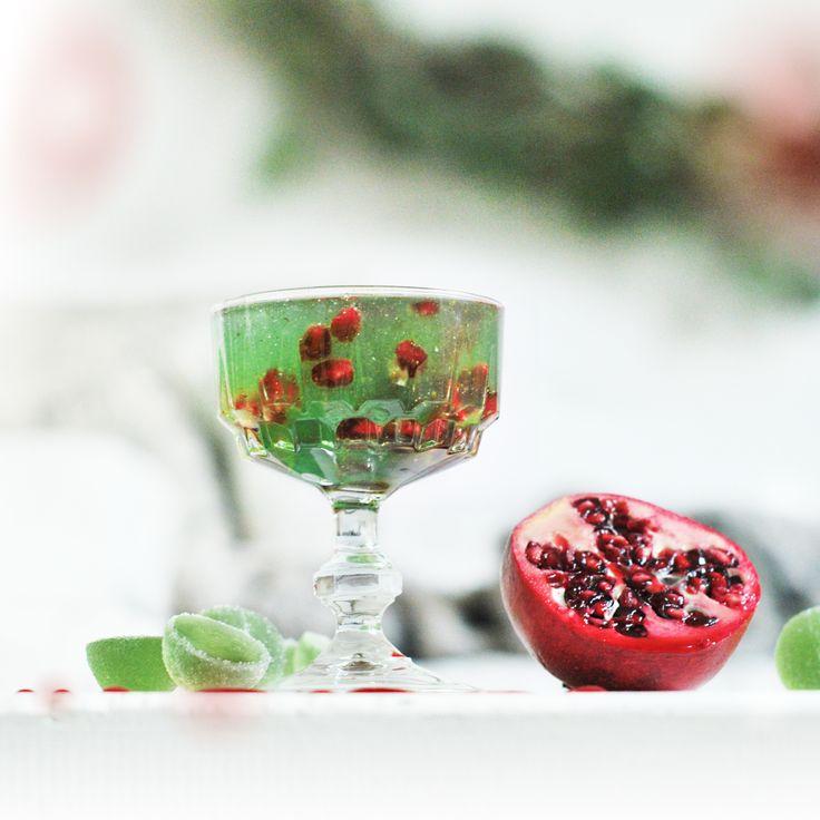 Vihreä Kuula -juhlakiisseli on täydellinen päätös talven juhla-aterialle ♥️♥️