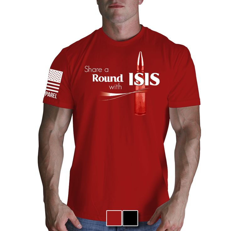 Share A Round with ISIS Mens TShirt Shirts, Nine d