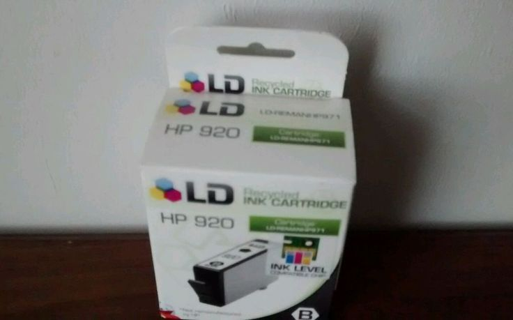 LD Recycled Ink Cartridge HP 920 Black #LD