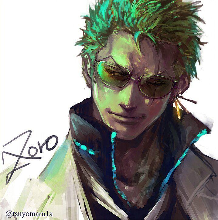 Roronoa Zoro, One piece  by Tsuyomaru_時々 (@tsuyomaru1a) | Twitter