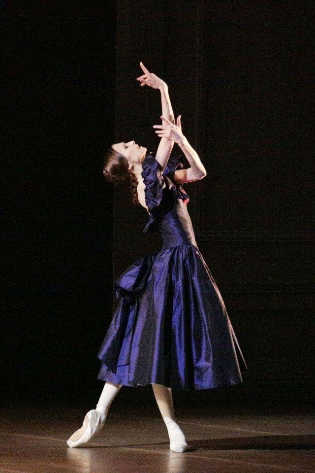 Svetlana Zakharova in Lady of the Camellias. Светлана Захарова в Дама с Камелиями.