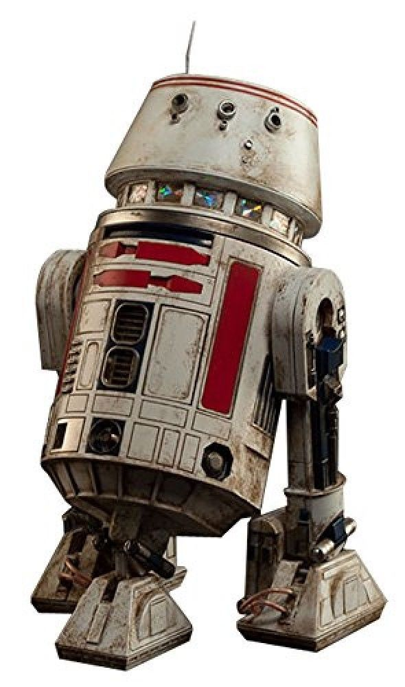 Droid Star Wars  R5-D4 Action Figure EPISODE IV A NEW HOPE Plastic Pre-painted #Sideshow