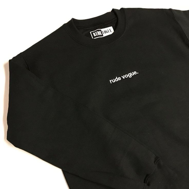 Rude Vogue Stitch Sweatshirt